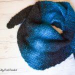 Crochet Crescent Shawl Pattern