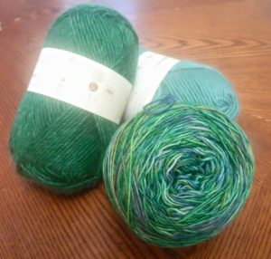 Rowan and Malabrigo Wool Yarn - Hand wash, dry flat.