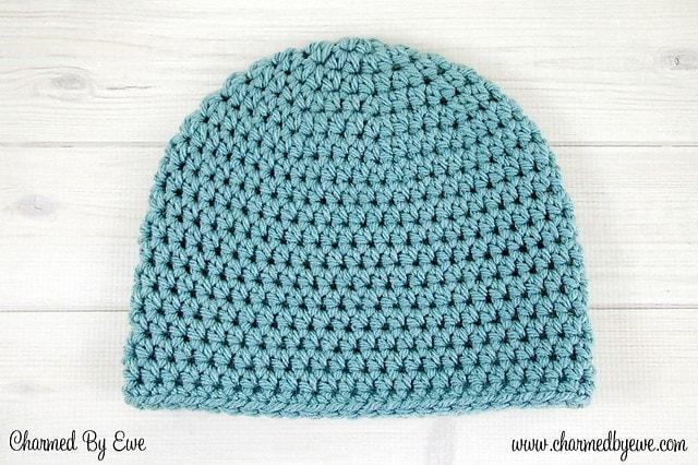 Crochet Lucky Heart Hat Newborn