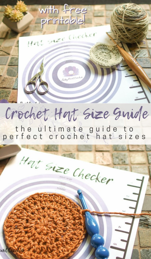 Make perfect crochet hats every time with this handy tutorial on sizing crochet hats! Plus, make sure to download your copy of the crochet hat size chart for effortless hat making! #crochet #crochethats #crochetbeanies #crochettutorial
