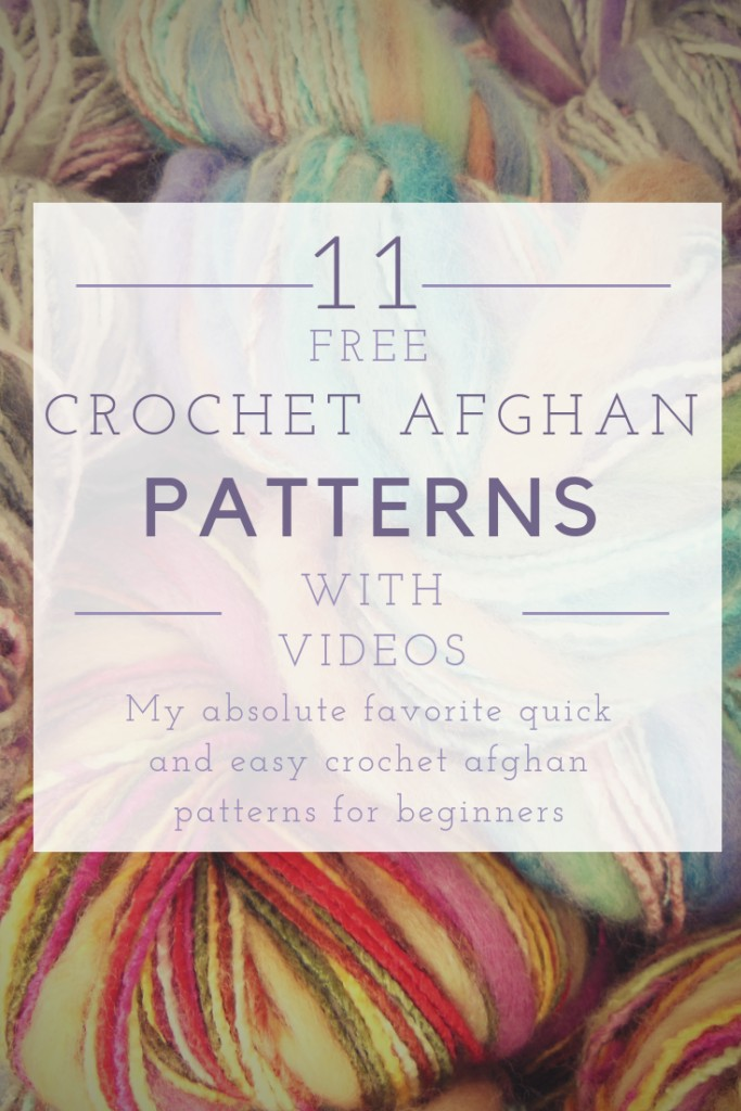 11 Easy Crochet Afghan Patterns on Youtube