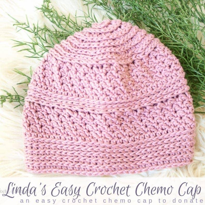Easy Crochet Chemo Cap Pattern Salty Pearl Crochet