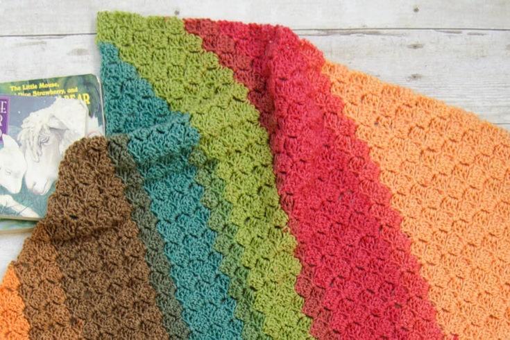 Rise & Shine Baby Blanket / C2C Blanket Pattern