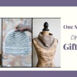 Collage of 3 crochet gifts